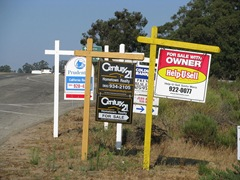 Houses for Sale Signs