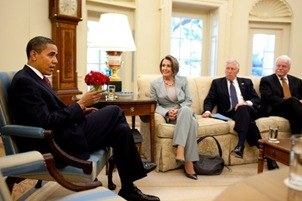 Obama, Pelosi, Hoyer & Miller