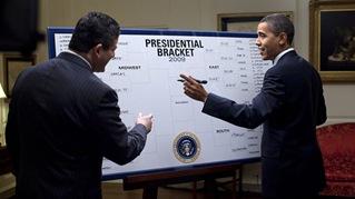 Obama NCAA Bracket
