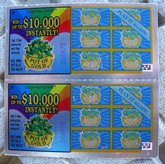 Lottery Tickets Crop